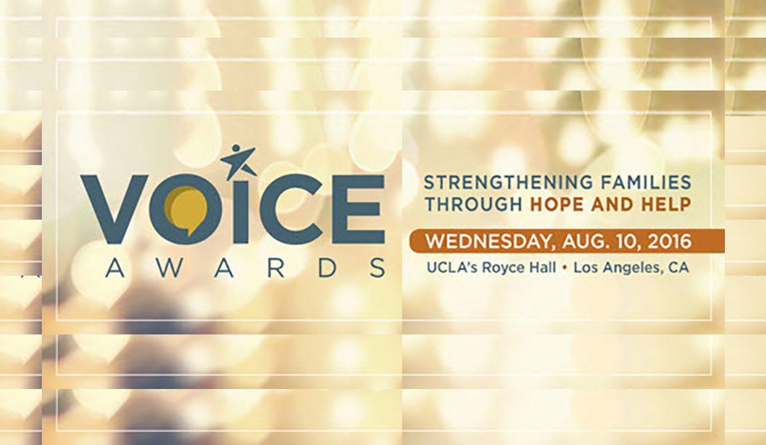 2016 SAMHSA Voice Award