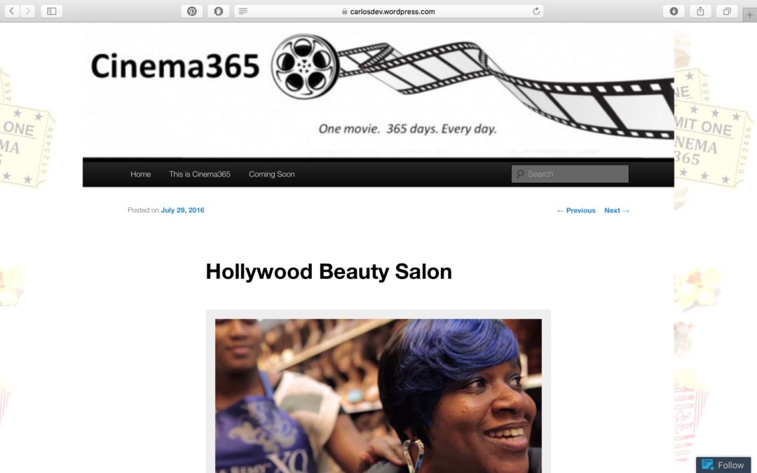 Review from Cinema365