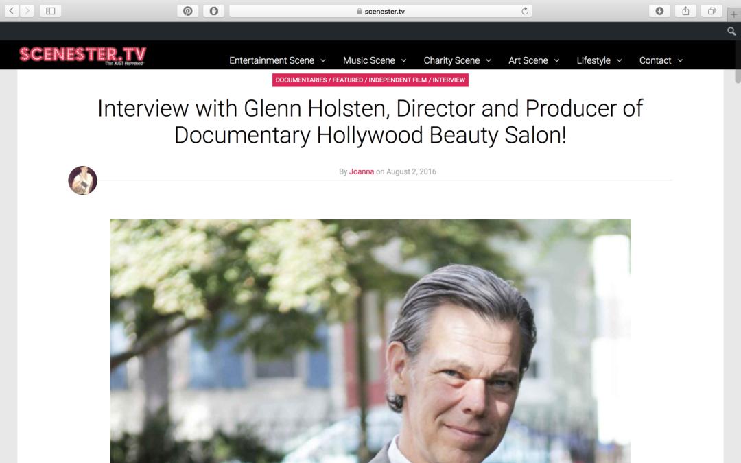 Scenester.tv Interview with Glenn Holsten